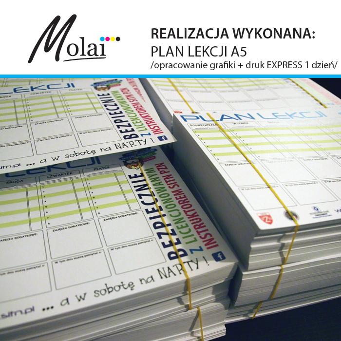 plan lekcji do druku a4